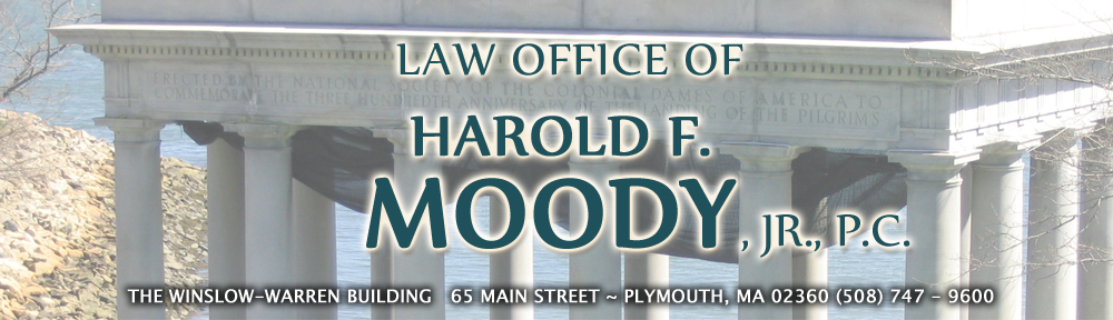 Harold F. Moody Jr. ~ Attorney At Law